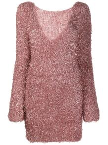 платье-джемпер с V-образным вырезом на спине Antonella Rizza 1607233177