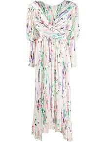 платье Filao с абстрактным принтом и запахом Isabel Marant 150944455152