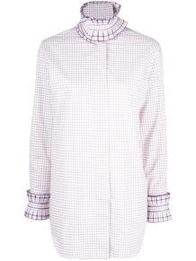 рубашка в клетку Victoria Beckham 1606750356