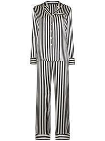пижама в полоску Olivia Von Halle 1626846677