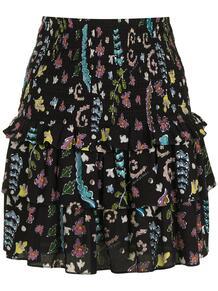 юбка Hazel со сборками Cynthia Rowley 1621950783
