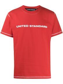 футболка с круглым вырезом и логотипом UNITED STANDARD 1523735677