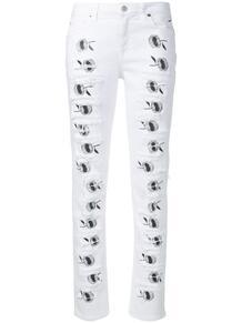 джинсы скинни с цветочным принтом 1017 ALYX 9SM 137512255055