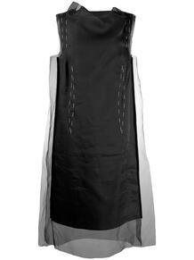 платье с прозрачным верхним слоем MAISON MARGIELA 140614075248