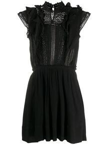 платье мини с кружевом Isabel Marant 149078285156
