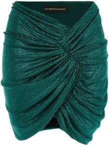 мини-юбка со сборками ALEXANDRE VAUTHIER 139284315156