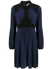 платье-рубашка со вставками №21 146641095252