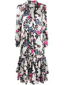 блузка с бантом и цветочным принтом La Doublej 1552187283