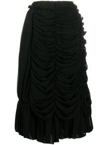 юбка со сборками Comme des Garcons 1566685283