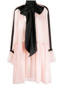 платье с контрастным бантом PHILOSOPHY DI LORENZO SERAFINI 157459605248