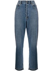 джинсы прямого кроя с лампасами GOLDEN GOOSE 159007885148