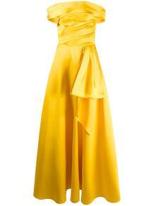 вечернее платье с драпировкой TALBOT RUNHOF 152219725152