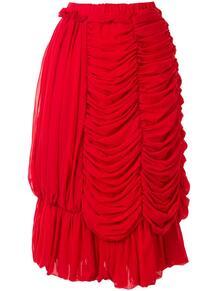 юбка с драпировкой Comme des Garcons 1576349977