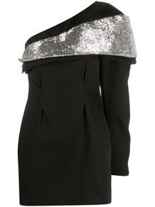 платье асимметричного кроя с пайетками Isabel Marant 160078015156