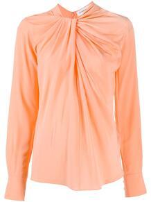 блузка со сборками Victoria Beckham 1598916454