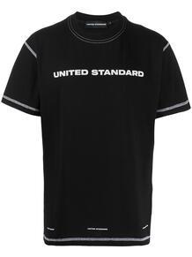 футболка с логотипом UNITED STANDARD 1606746676