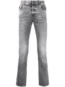 джинсы средней посадки с надписью John Richmond 160399825154