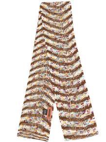 меланжевый шарф в полоску Missoni 15903447636363633263