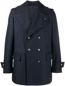 двубортное пальто GABRIELE PASINI 161418155348