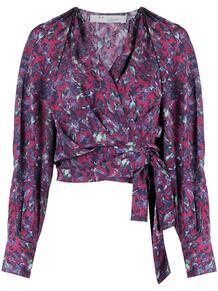 блузка с цветочным принтом IRO 162661005154