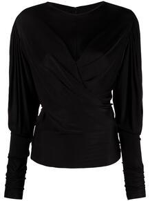 блузка Diwaded с драпировкой Isabel Marant 163324935154