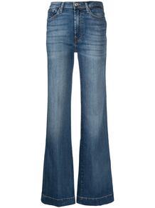 расклешенные джинсы Modern Dojo Soho 7 for all mankind 163789215055