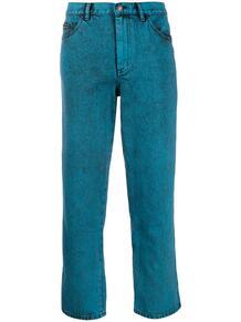 укороченные джинсы с подворотами Marc by Marc Jacobs 142734615054