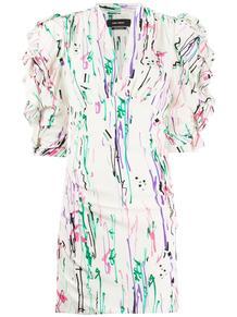 облегающее платье с принтом Isabel Marant 149157665248