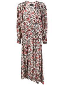 длинное платье с цветочным принтом Isabel Marant 149603785248