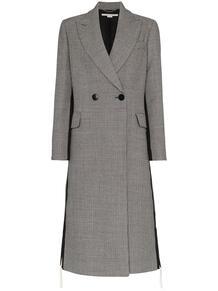 двубортное пальто в ломаную клетку 'Chana' Stella Mccartney 129893205250