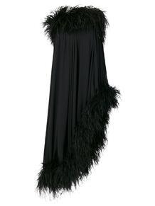 платье с открытыми плечами Yves Saint Laurent 129072785156