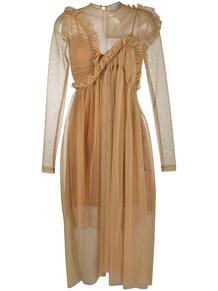 прозрачное платье с оборками PREEN by Thornton Bregazzi 154453168883