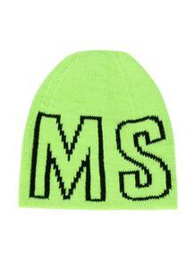шапка бини с логотипом Msgm Kids 156003285354326363