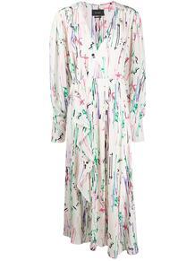 длинное расклешенное платье Isabel Marant 150743395248