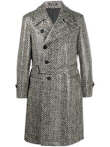 двубортное пальто ea7 157715505256