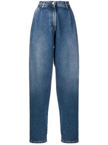 зауженные джинсы с завышенной талией MSGM 154734925252