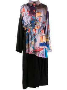 платье-рубашка Corrugation Natasha Zinko 152608745156