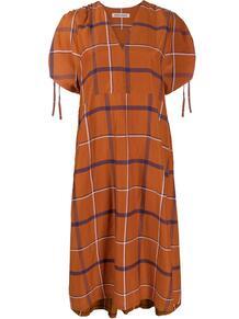 платье в клетку HENRIK VIBSKOV 1601242483