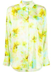 блузка с цветочным принтом MSGM 161550455248