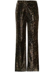 брюки Tameside с леопардовым принтом John Richmond 145613755248