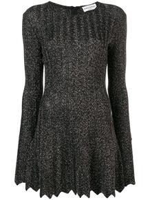 платье с блестками и плиссировкой Sonia Rykiel 1381138783