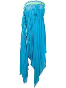 платье без бретелей с драпировкой Unravel Project 1374775077