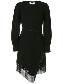 платье с бахромой и поясом НК 147839715156