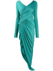 платье асимметричного кроя с запахом ALEXANDRE VAUTHIER 154578855248