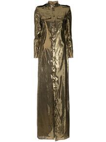 платье-рубашка с пайетками RalphLaurenCollection 1376778048