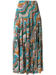 юбка с принтом и сборками La Doublej 1238718376
