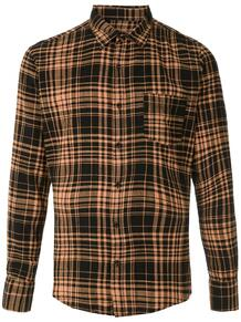 клетчатая рубашка с карманом OSKLEN 1488801180