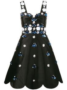 коктейльное платье с цветами из пайеток HUISHAN ZHANG 1205705754