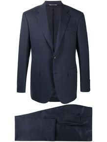 костюм с однобортным пиджаком Canali 158181835256