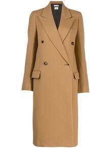 классическое двубортное пальто Bottega Veneta 141417835250